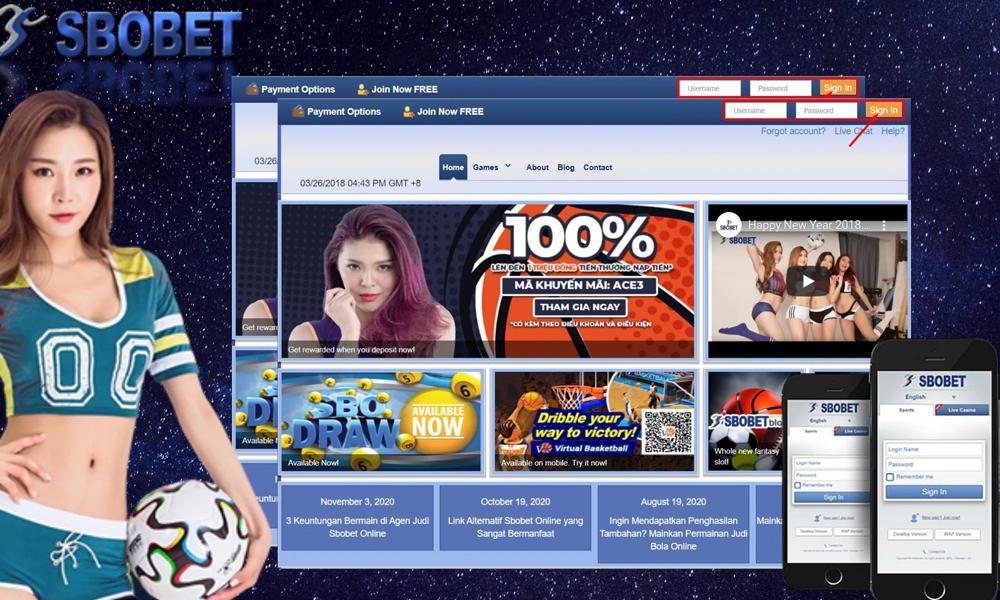 Đăng ký thành viên chơi cá cược nhà cái SBOBET